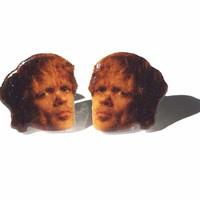Tyrion Lannister Earrings - Game of Thrones Studs