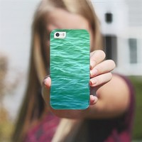 Teal Sea iPhone 5s case by Lisa Argyropoulos | Casetagram