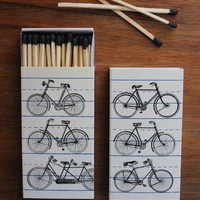 Bicycle Matches | Bohemian home decor: bomisch