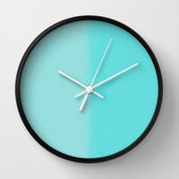 Re-Created Interference ONE No. 8 Wall Clock by Robert S. Lee