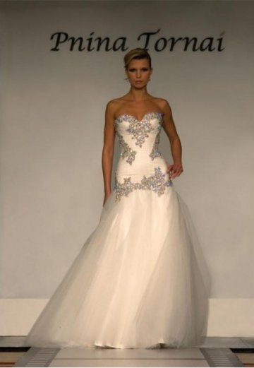 Floor Length Sweetheart Prom Dress With Rhinstone