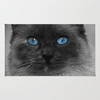 CATTURE Area & Throw Rug by Catspaws | Society6