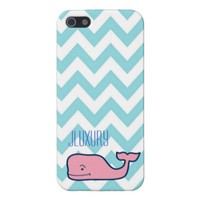Vineyard Vines/JLuxury Blue Chevron iPhone case