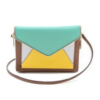 Colorblocked Marlowe Mini Clutch