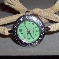 Custom Size Hemp Watch by OriginalAccents on Etsy