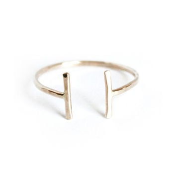 I liked this design on #Fab. Open Ring Gold Fill