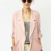 Drape Pocket Blazer