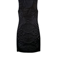 Cynthia Rowley - Quilted Detail Charmeuse Dress | Dresses