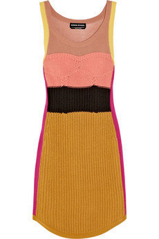 Sonia Rykiel | Knitted stretch-cotton dress | NET-A-PORTER.COM