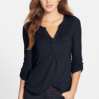 Lucky Brand 'Dallas' Pocket Top | Nordstrom