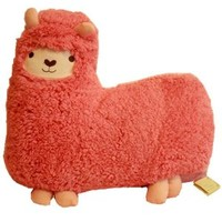 Bolster Toy Aunt Merry Mokomoko Llama Alpaca Hug Pillow Cushion Doll
