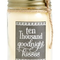 Primitives by Kathy 'I Love You' Mason Jar Scentless Candle