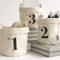 Maika — No. 1 Recycled Canvas Bucket