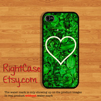 IPHONE 5S CASE Fresh Grass Heart Sign Phone Case iPhone 5 Case iPhone 4 Cases Samsung Galaxy S4 S3 Cover iPhone 5c cases iPhone 4s Nature