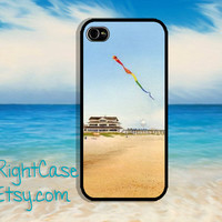 Sea Beach Kite WaterColor iPhone Case, Samsung Galaxy S4, Galaxy S3 Case, iPhone 5, iPhone 5S, 5C, iPhone 4 Case, iPhone 4s Cover, Drawing