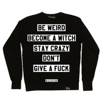 Motto Sweatshirt [B] | KILLSTAR