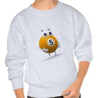 Pool Ball 5 II Pullover Sweatshirt