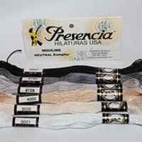 Embroidery Floss New Presencia  Neutral color by purrfectstitchers