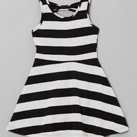 Black & White Stripe A-Line Dress - Infant, Toddler & Girls | something special every day
