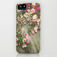 She Had a Spirit That Was Wild and Free iPhone & iPod Case by Olivia Joy StClaire