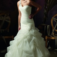 Organza Wedding Gown by Mori Lee