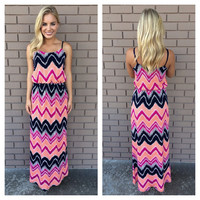Friday Night Lights Maxi Dress
