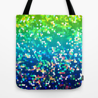 Glitter Graphic G210 Tote Bag by MedusArt