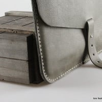 Gray Macbook case / Document case / Clutch