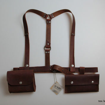 Harness with 2 bag