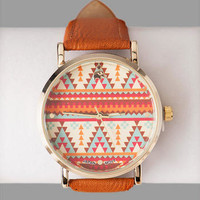 TULUM TRIBAL PRINT WATCH