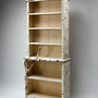 Birch Bark Bluff: Full Shelf: Mike Dillon: Wood &amp; Resin Bookcase - Artful Home