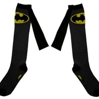 DC Comics Superheroes Knee High Cape Socks