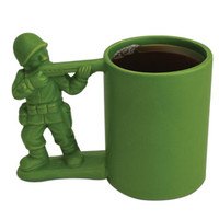 Army Man Mug - Toy Soldier Army Guy Coffee Mug | Super Fun Time Gifts - Quirky, Trendy, Fun!