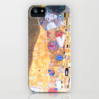 Love & The Kiss - Gustav Klimt iPhone & iPod Case by BeautifulHomes
