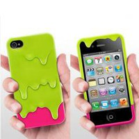3D Ice Cream Hard Case Cover Skin for Apple IPHONE 4 4G 4S free shipping
