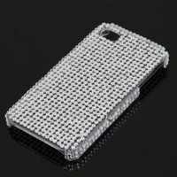 Bling Rhinestone Crystal Glitter Case Cover for iPhone 4 4S free shipping