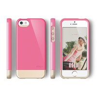 elago S5 Glide Case Limited-Edition for iPhone 5/5S - eco friendly Retail Packaging (Hot Pink / Champagne Gold)