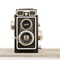 Retro Mod Decor Ikoflex Camera Print Photograph by galleryzooart