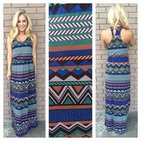 Dainty Hooligan Jenga Maxi Dress