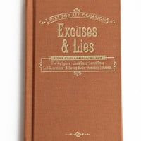 Excuses  Lies For All Occasions Book