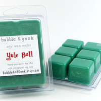 Yule Ball Scented Soy Wax Tart Melts - spices, evergren - Harry Potter