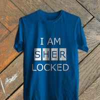 i am sherlocked -Size S,ML,XL,2XL,3XL tshirt