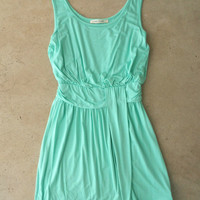 Summer Sky Dress in Mint [4257] - $36.00 : Vintage Inspired Clothing & Affordable Dresses, deloom | Modern. Vintage. Crafted.