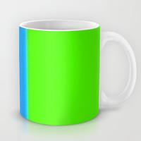 Re-Created Interference ONE No. 12 Mug by Robert S. Lee