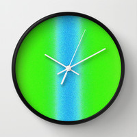 Re-Created Interference ONE No. 12 Wall Clock by Robert S. Lee