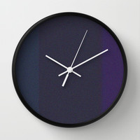 Re-Created Interference ONE No. 10 Wall Clock by Robert S. Lee