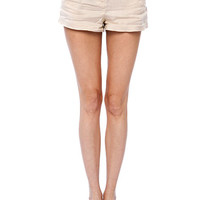 Papaya Clothing Online :: BOHEMIAN BELTED LINEN SHORTS