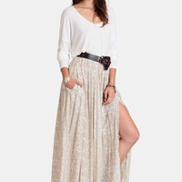 Strange Melody Maxi Skirt By Novella Royale