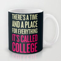A Time & Place for Everything Mug by LookHUMAN