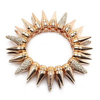 Pree Brulee - Sparkling Spiked Bracelet